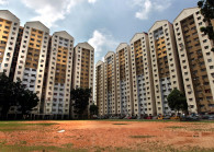 A view of low cost flats. (Photo by: Chu Juck Seng/TheEdge)