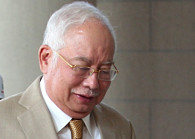 Former premier Datuk Seri Najib Abdul Razak. (Photo by: Mohd Izwan Mohd Nazam/The Edge)