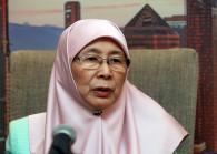 Deputy Prime Minister Datuk Seri Dr Wan Azizah Wan Ismail. (Photo by: Shahrin Yahya/TheEdge)