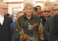 Datuk Seri Dr Ahmad Zahid Hamidi. (Photo by: TheEdge)